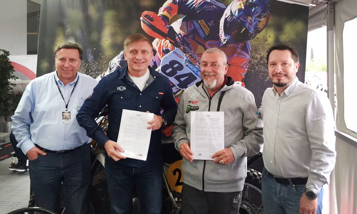 MXGP: The Agreement on the holding of the World Motocross Championship in Russia has been signed!