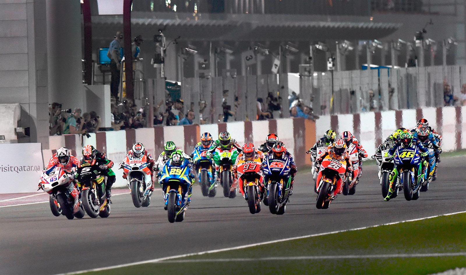 MotoGP: Гран-При Катара выигрывает Maverick VIÑALES!