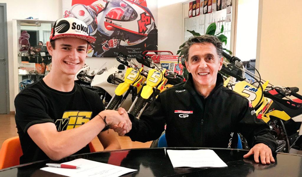 Макар Юрченко стартует в чемпионате мира Moto3 в сезоне 2018 года!